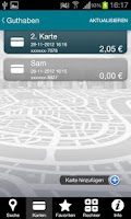 Screenshot of Ticket Shopping Card von Edenr