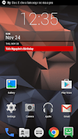 Screenshot of Mianogen - Launcher Theme