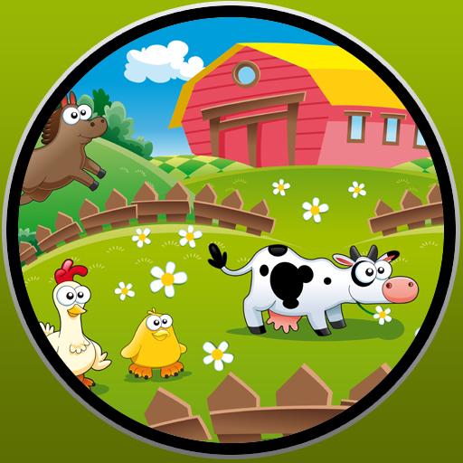农场动物和婴儿游戏 休閒 App LOGO-硬是要APP