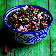 Pomegranate and Queso Fresco Salsa
