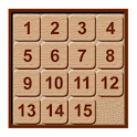 Classic fifteen puzzle Free icon
