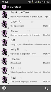 Hunters Text - Doe Theme - screenshot