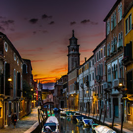 Venice by Mihai Popa - City,  Street & Park  Historic Districts ( italia, venetia )