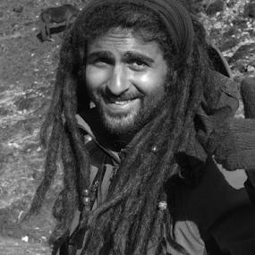 Australian Smile by Shishir Desai - People Portraits of Men ( smile,  )