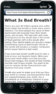 Bad Breath Remedy - screenshot