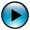Blue Media Player Control icon