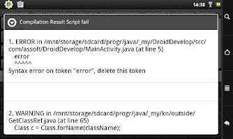 Screenshot of DroidDevelop