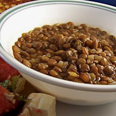 Fakes (Traditional Greek Lentil Soup)