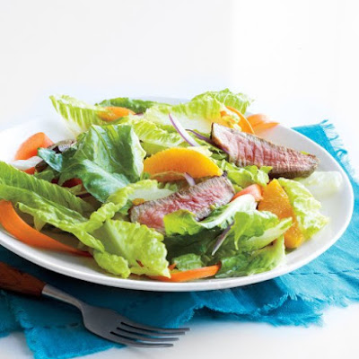 Steak Salad with Orange-Honey Dressing
