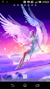 Angel Fairy 3D Live Wallpaper - screenshot