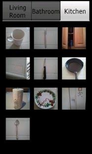 HouseHold Items FlashCards - screenshot