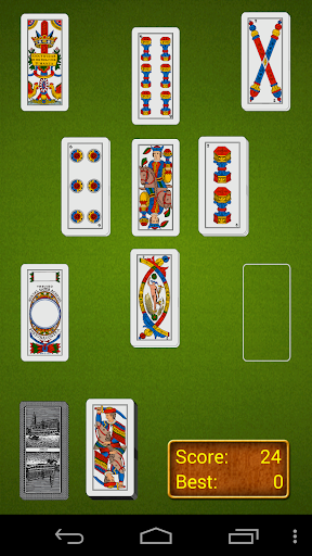 Italian Solitaire Pro - screenshot