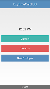 EzyTimeCard US - screenshot