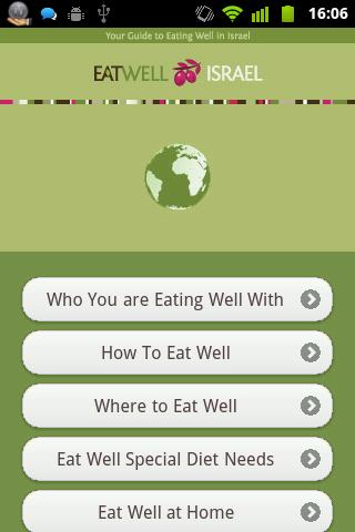 Eat Well Israel