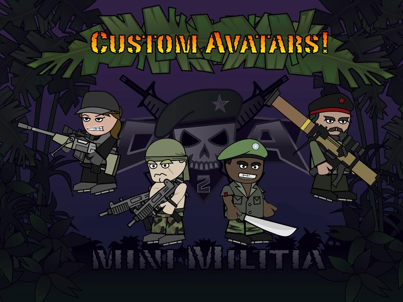 Doodle Army 2 : Mini Militia Screenshot 14