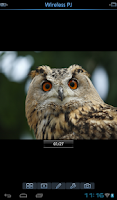 Screenshot of Panasonic Wireless Projector