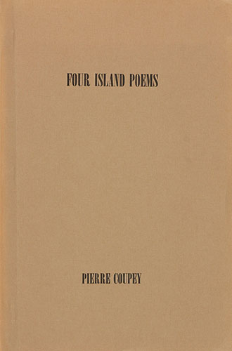 <strong>Four Island Poems</strong>