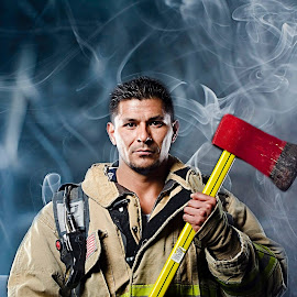 More from the Firefighter theme shoot by Steve Forbes - People Portraits of Men