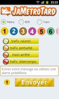 Screenshot of JaMétroTard - Métro de Paris