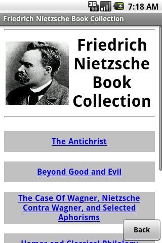 Nietzsche Book Collection