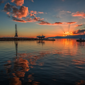 Rijeka harbour by Stanislav Horaček - Landscapes Sunsets & Sunrises