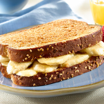 Banana Bliss Breakfast Sandwiches