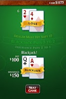 Screenshot of Ace Roller Blackjack
