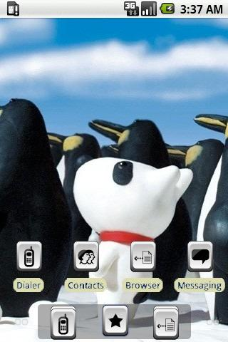 Monk Penguin [SQTheme] for ADW