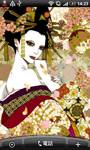 Live Wallpaper Oiran~glories t