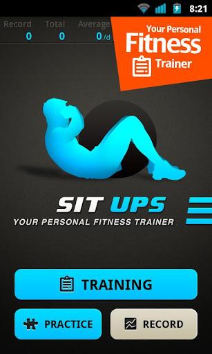 仰卧起坐教练 - Sit Ups Workout