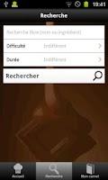 Screenshot of Fondant au chocolat