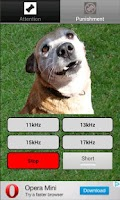 Screenshot of Dog whistle - trainer for dog