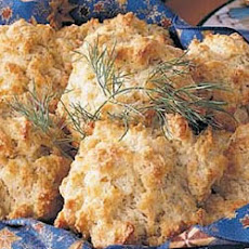 Flaky Dill Biscuits