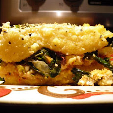 Polenta Lasagna With Feta and Kale