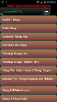 Screenshot of Telugu Radio Online