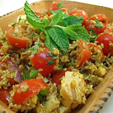 Curried Tabbouleh