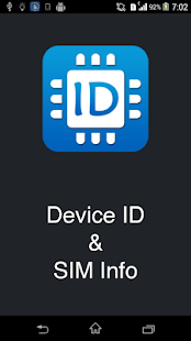 Device ID & SIM Info - screenshot