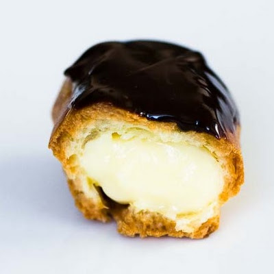 Cream-Filled Chocolate-Covered Eclairs