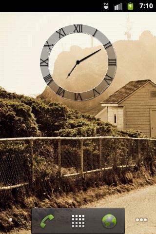 Analog Clock λ