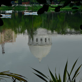 Reflections !! by Siddhartha Chatterjee - Buildings & Architecture Statues & Monuments