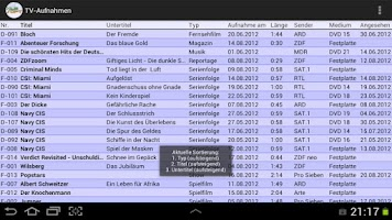 Screenshot of XLMSoft Database PRO