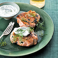 Salmon-and-Spinach Cakes