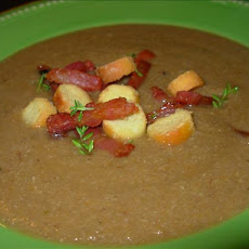 Chestnut Soup With Bacon - Velouté De Chataignes Et Bacon