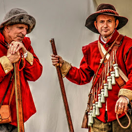 Musketeers by Ian Flear - People Musicians & Entertainers