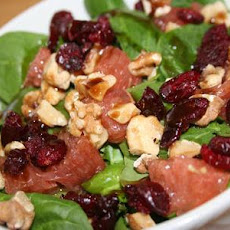 Grapefruit and Spinach Salad