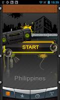 Screenshot of Philippines Radio