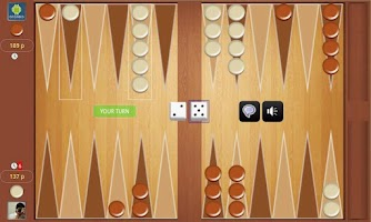 Screenshot of Backgammon Online Tournament !