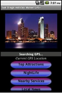 San Diego Holiday Guide GPS+ - screenshot