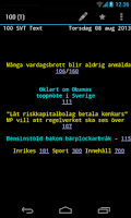 Screenshot of aText-TV