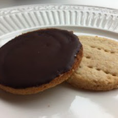 Chocolate Covered Digestive Cookies